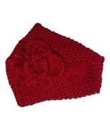 Tickled Pink Red Floral Embellished Head Wrap MRP $22 SAVE $5.00 - $17.00