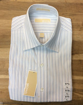 Michael Kors Stripe Dress Shirt 16 34/35 - $19.79