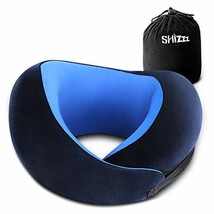 Shizzz Travel Pillow, Neck Pillow for Airplane Travel Memory Foam Chin P... - $27.42