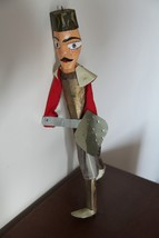 Vintage Hand Made Marionette. Tunisian Soldier - $39.60