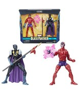 Black Panther Marvel Legends Shuri and Klaw 6-Inch Action Figures, Hasbro - £31.23 GBP
