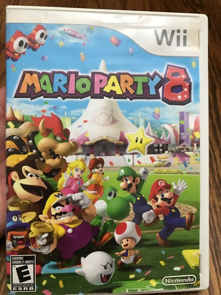 Mario Party 8 Wii Game Nintendo 2007