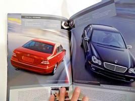 2006 mercedes c 55amg c350 c 230 owners sales brochure new original sport sedans - $29.69