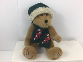 """Boyds Bears The Archive Collection """"BJ Bearricane"""" 1990 Holiday 12"""" Plus... - $14.63"""