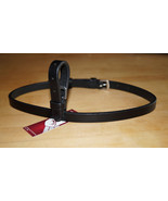 "Bobby's Leather 1/2"" x 25.5"" FULL Sz Buckle On Flash Strap- BLACK - $20.00"