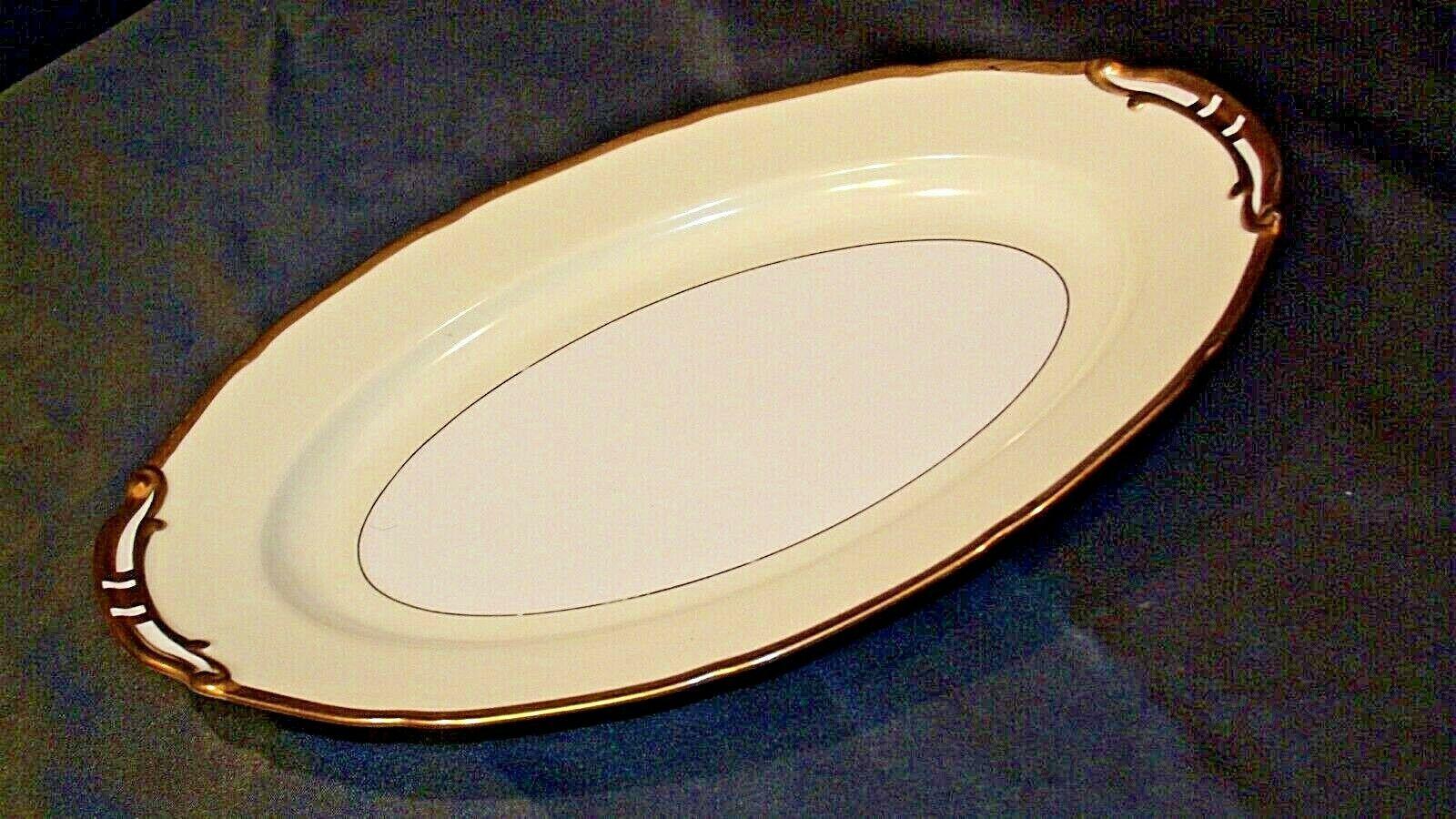 Noritake China Japan Goldora 882 Serving Platter  AA20-2139 Vintage
