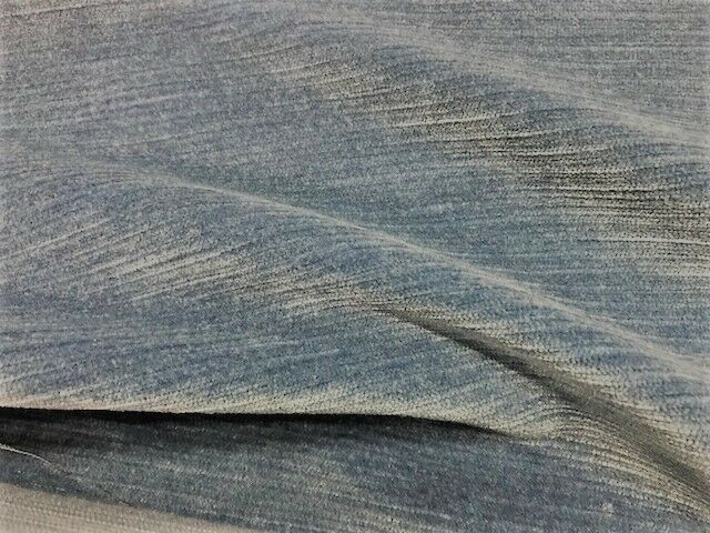 Romo Kirkby Orion Kingfisher Blue Velvet Upholstery Fabric K5058-31 3 yds RB