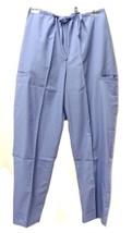 Scrub Pants Periwinkle Natural Uniforms Natural Comfort Small Petite Wom... - $19.37
