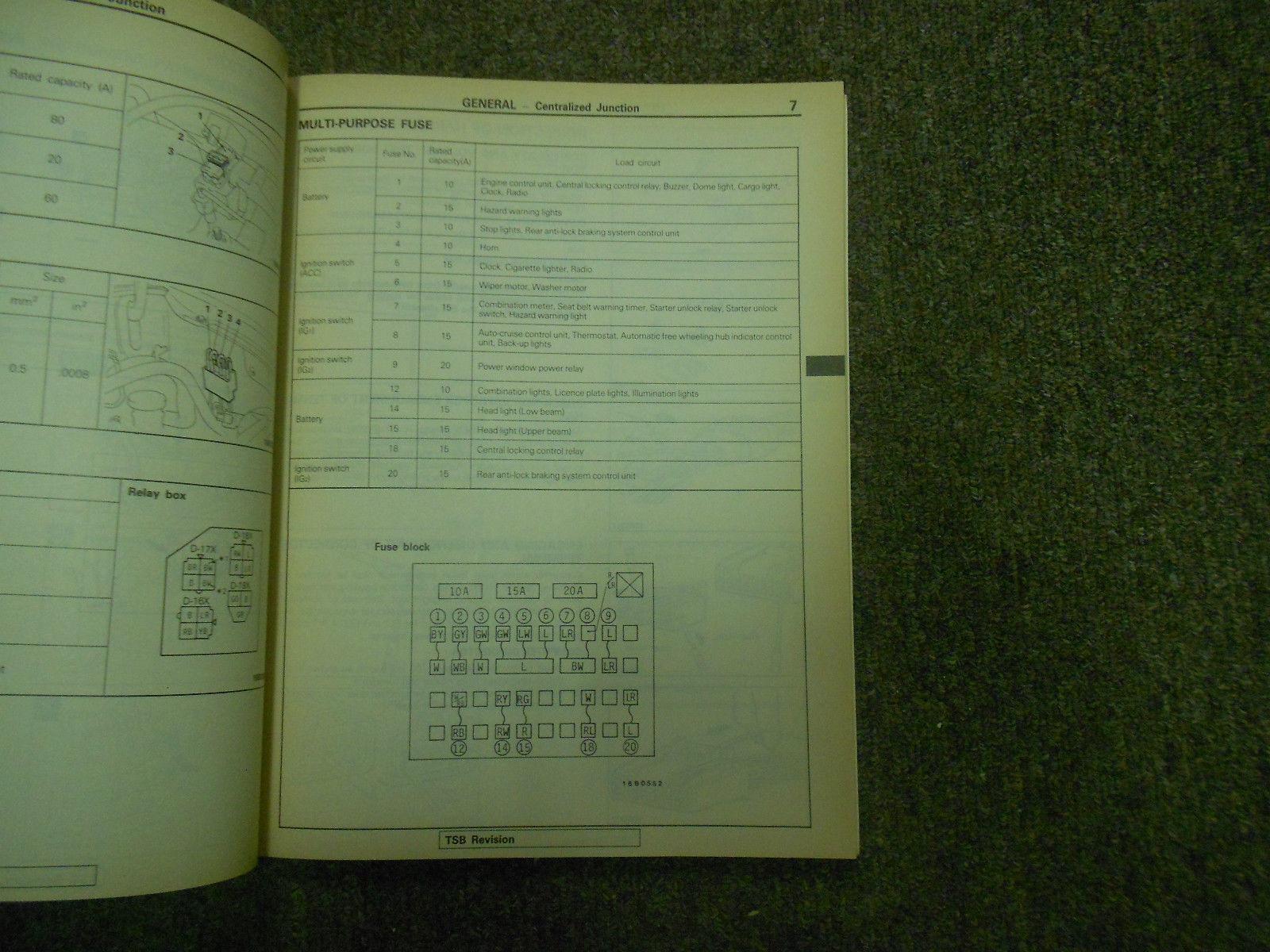 1992 MITSUBSISHI Truck Service Repair Shop Manual SET 3 VOL FACTORY OEM BOOK 92