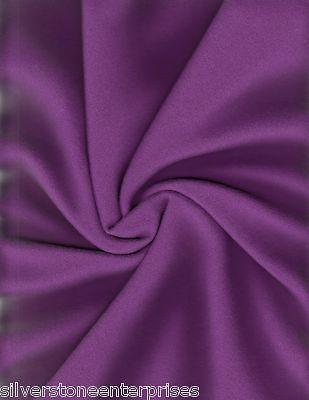 1.25 yds Camira Upholstery Fabric Mid Century Blazer Eastbourne Purple Wool RM
