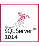 MICROSOFT WINDOWS SQL SERVER 2014 - $49.99