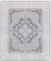 "Pre-Printed Wholecloth Quilt Top Garden Bouquet White #782 90""x108"" - $120.00"