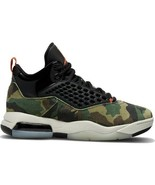 New Nike Air Jordan Maxin 200 Men's Trainers CD6107-200 Camo Olive/Red/B... - $123.74