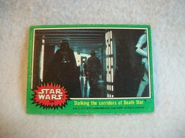Star Wars Series 4 (Green) Topps 1977 Trading Card # 204 Stalking the Corridors - $1.49