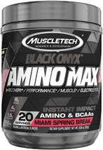 MuscleTech Black Onyx AMINO MAX 20 servings (Miami Spring Break) 9.96oz.... - $20.00