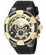 Invicta 24699 Bolt Quartz Black Stainless Steel and Silicone Men's Watch - $208.85