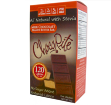 Keto Chocolate: 5 ChocoRite Milk Chocolate Peanut Butter Bars low carb (... - $23.76