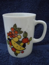 Vintage Creative Fine China Assorted Fruit Mug No.2 - $3.99