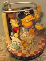 1994 Danbury Mint Garfield Anchors Aweigh Music Box - $33.37
