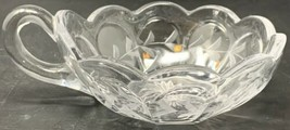 One (1) Nappy Dish Heisey - Colonial Style - Ribbed H in Diamond mark 19... - $14.20