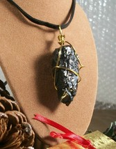 Coal Lump Chunk Anthracite PA Coal Necklace Christmas Naughty Girl frien... - $9.59