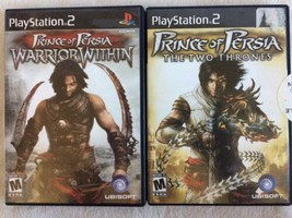 Prince of Persia: The Two Thrones & Warrior Within (Sony PlayStation 2) PS2 - $14.84
