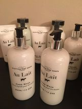 Scottish Fine Soaps Au Lait body lotion/butter/Bathing Milk/hand lotion, new image 3