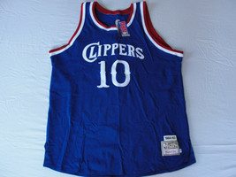 M3 Mitchell & Ness Clippers Authentic 1984-85 Norm Nixon #10 Blue Jersey 54  - $257.40