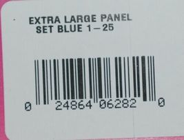 Destron Fearing Extra Large Panel Ear Tags for Livestock Blue 1-25 25 Sets image 7