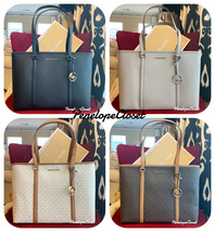 NWT MICHAEL KORS SADY LARGE MULTIFUNCTION TOP ZIP TOTE BAG IN VARIOUS  - $110.88+
