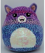 """Squishmallow 2020 Scented Mystery Squad 5"""" Plush Series 1 Opened Leopard - $19.79"""