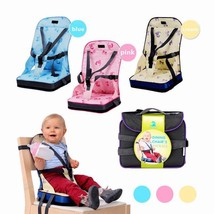 Safe Baby Chair Portable Infant Seat Dining Highchair Suspender Booster ... - $33.48