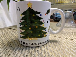 "Gold accent, Christmas Tree, musical notes & Holly "" Its the season.."" 1... - €24,33 EUR"