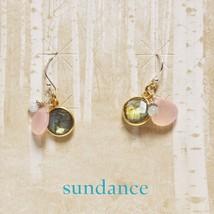 Sundance Catalog $68 Labradorite Pink Chalcedony Aquamarine Sterling Sil... - $57.42