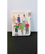 Vintage boys clothes pattern, McCalls 5484, cut pattern, 1991, shirts an... - $7.00