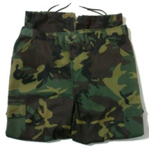 Liberty Mens Camo Cargo Pants L Green USA Hunting Military Camouflage  - $23.38