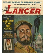 LANCER Sept 1960 - FIDEL CASTRO WITH LYNCHED CUBAN COVER - 1ST ISSUE! - $26.99