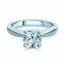Christmas Love Engagement Ring 0.40 Ct Round Brilliant Cut Diamond FG-VS - $1,104.00