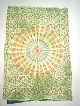 Tapestry Mandala bohemia Art Hippie Wall Hanging Poster 31x45 INCH Green - $0.98