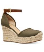 MICHAEL Michael Kors Kendrick Espadrille Wedge Sandals Size 7 - $95.08