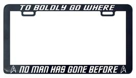Trek Trekkie To boldly go where no man has gone before license plate fra... - $5.99