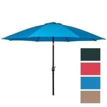 Blue Patio Umbrella Outdoor Patio Hanging Umbrella Garden Table Market U... - $60.99