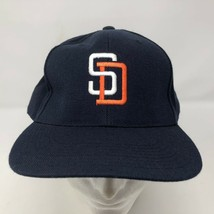 VTG Sports Specialities San Diego Padres Blue Size 7 3/4 Hat SD Baseball... - $42.07