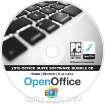 2018 Openoffice Suit Professional Software CD - $8.59