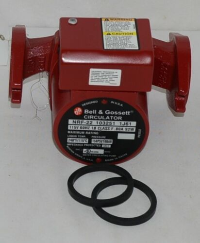 Bell Gossett 103251 Circulator NRF 22 Pump  Wet Rotor Series