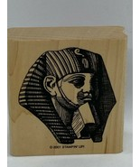 Stampin' Up! On the Nile King Tut Head Mask Single Wood Mounted Stamp - $9.60
