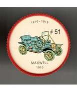 1910 MAXWELL Jell-O Picture Wheel #51 - $5.00