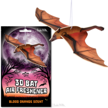 3D Vampire Bat Blood Orange Scented Deluxe Air Freshener! - $6.50