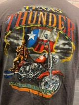 Moto Harley Davidson Texas Thunder Nacogdoches T-Shirt Taglia M - $13.54