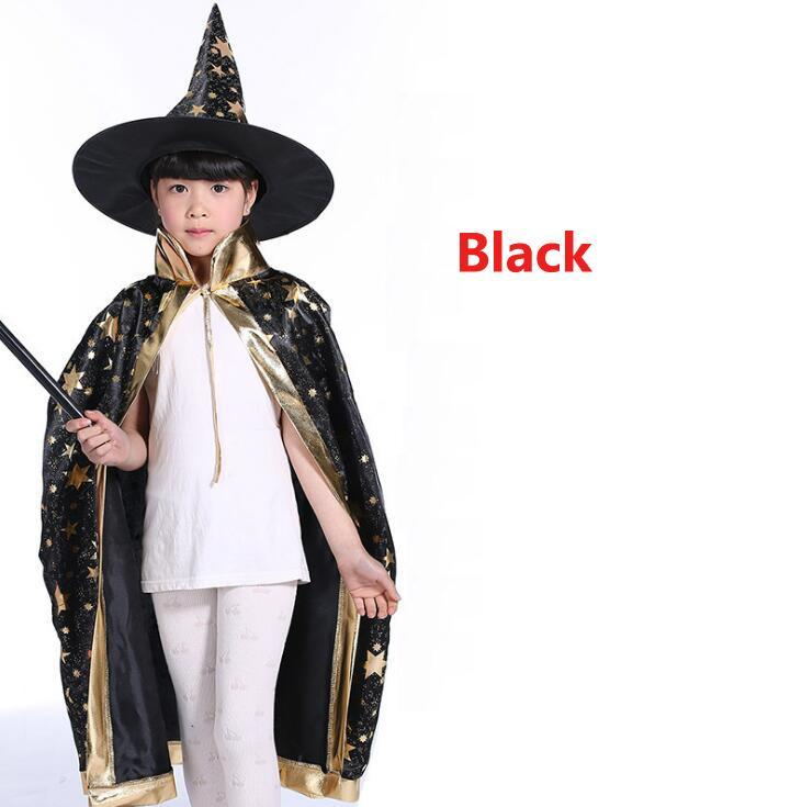 Capes With Hat For Kids Birthday Party Halloween Costumes  - Birthday Party